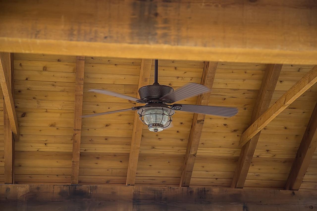 Feel the breeze of a ceiling fan