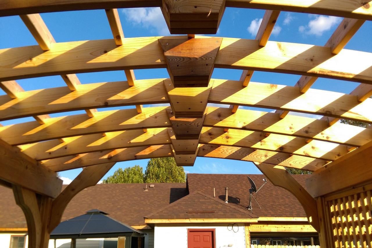 9 x 12 Arched Cedar / Southhaven, MI