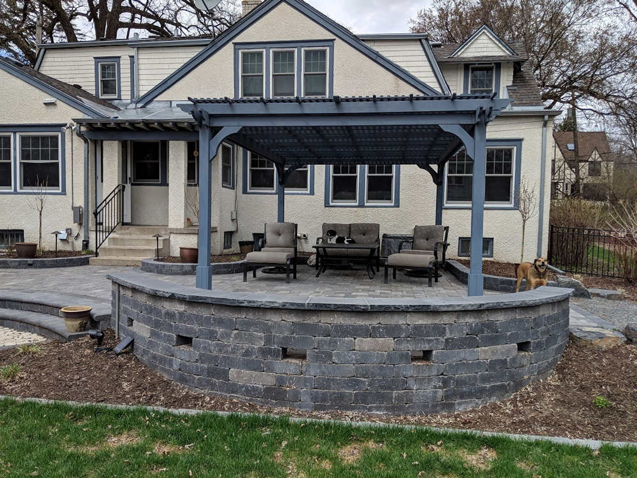 12x16 Cedar Pergola Kit Classic Minneapolis, MN