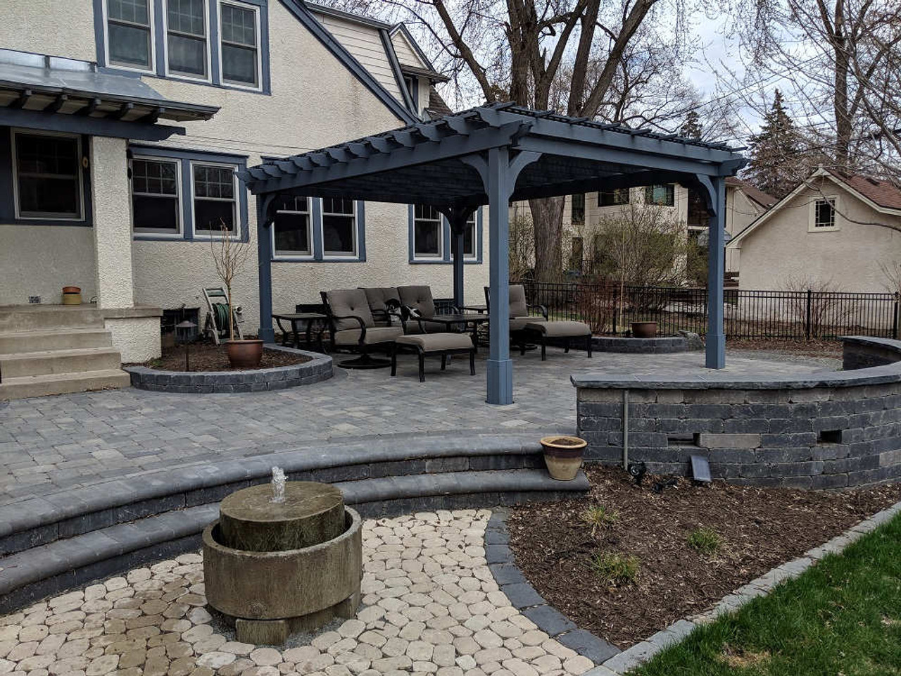 12x16 Classic Cedar Pergola Kit Minneapolis, Minnesota
