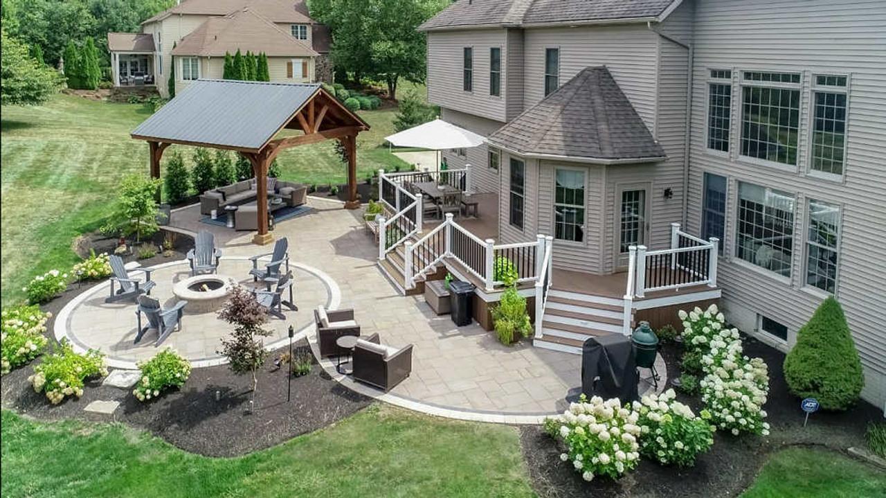 16x16 Grand Cedar Pavilion Kit, Richfield, OH