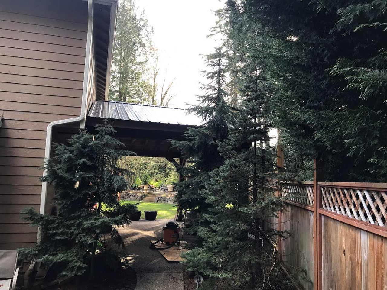 15x26 roof span Grand Cedar Pavilion Kit, Bothell, Washington