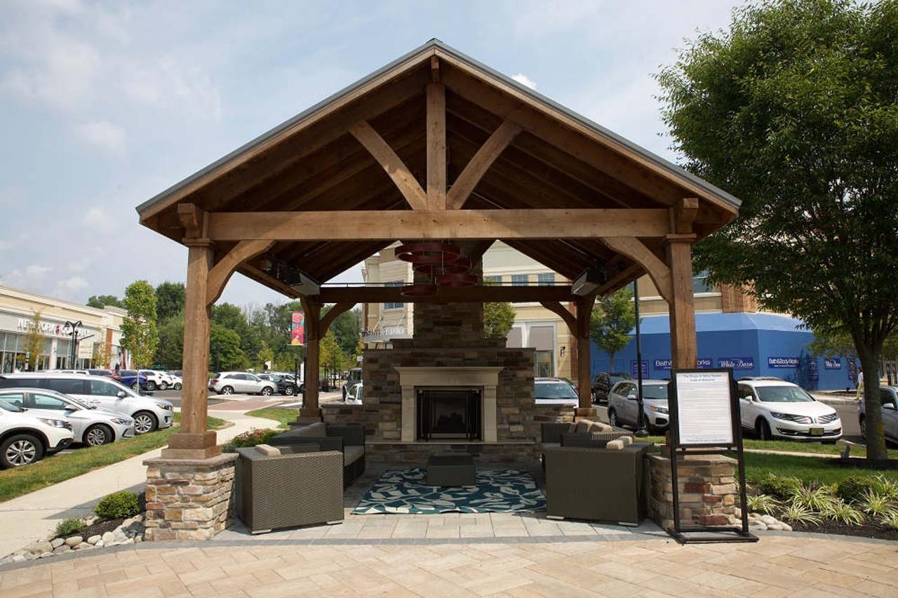 18x18 Grand Cedar Pavilion Kit, Warrington, PA