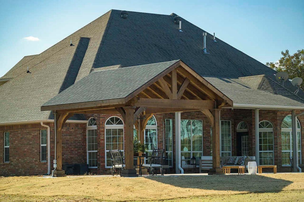 14x16 Grand Cedar Pavilion Kit, Seminole, Oklahoma