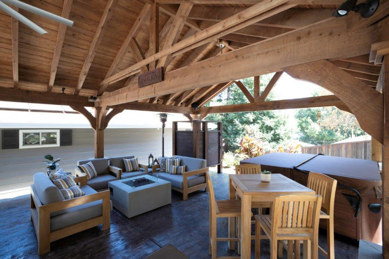 Martinez, CA structure 20x28 Grand Cedar roof