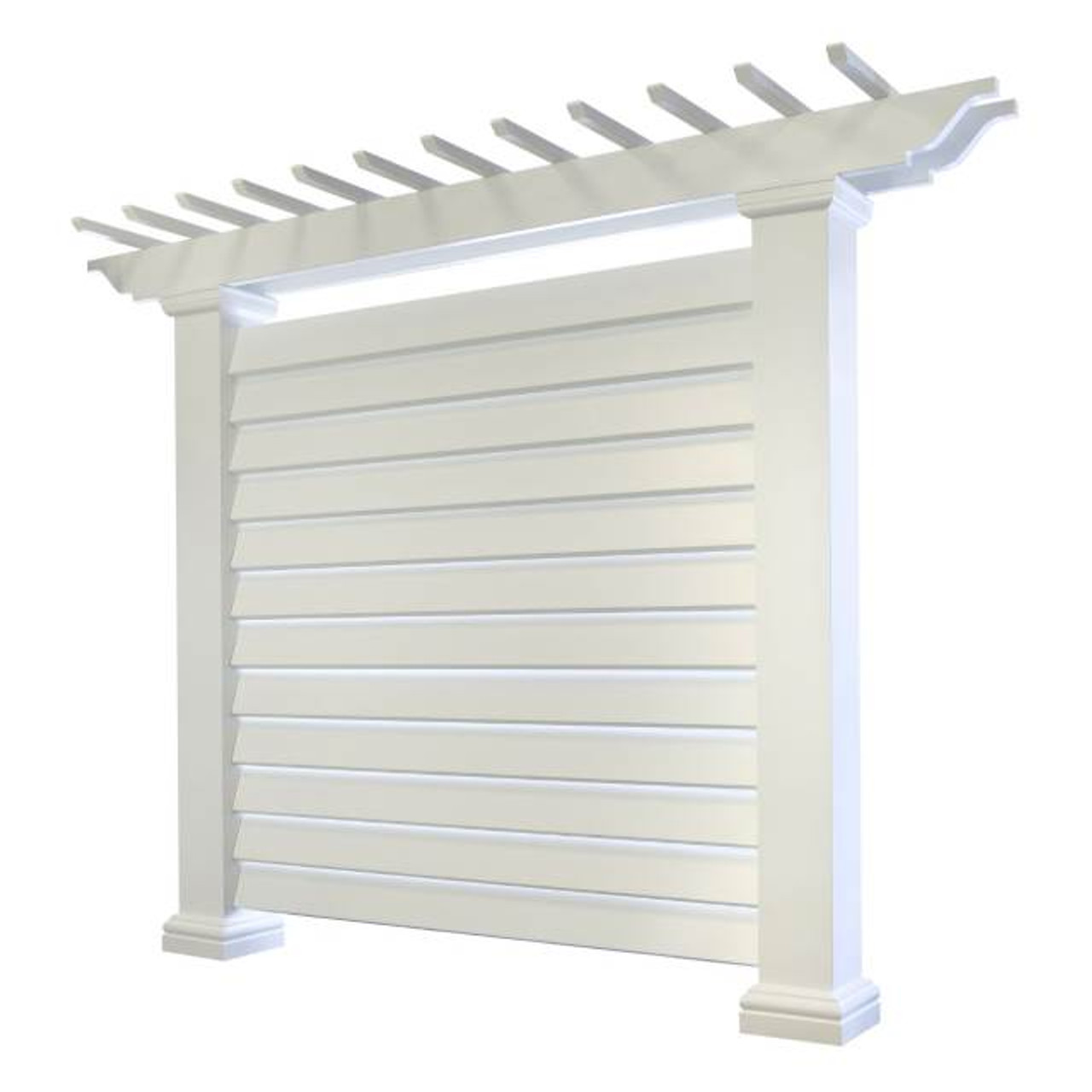 Louvered Wall