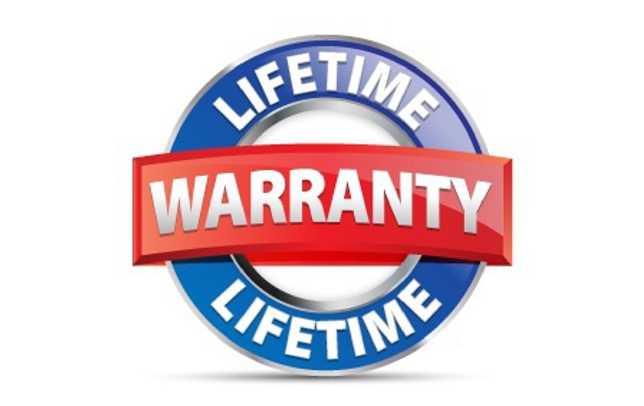 Lifetime Warranty!
