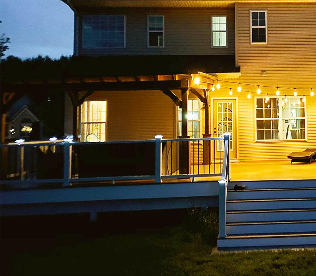 14x14 Cedar Lean-to Pavilion Sicklerville NJ