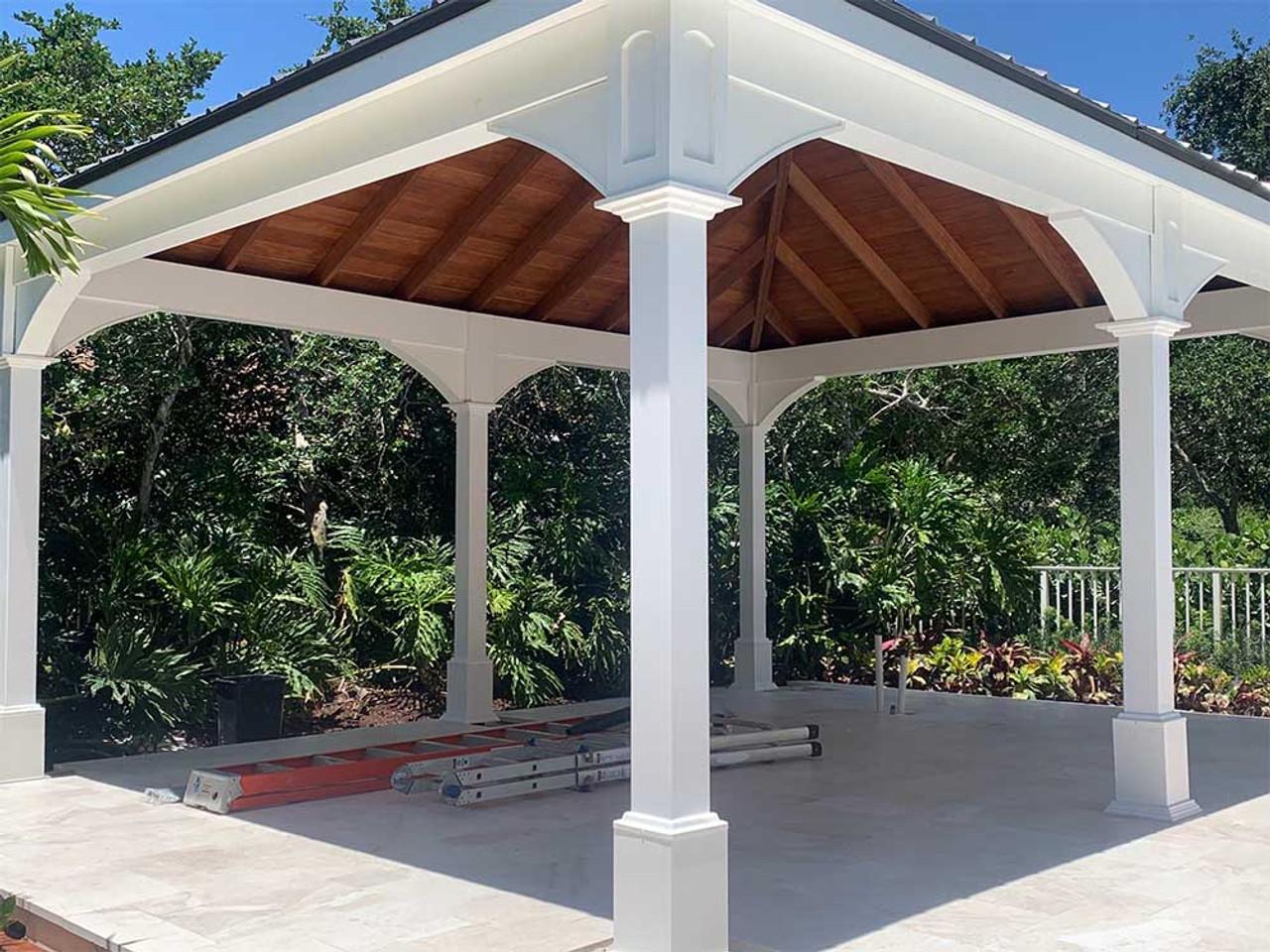 16x20 Traditional (Hip) Vinyl Pavilion Parkland Florida