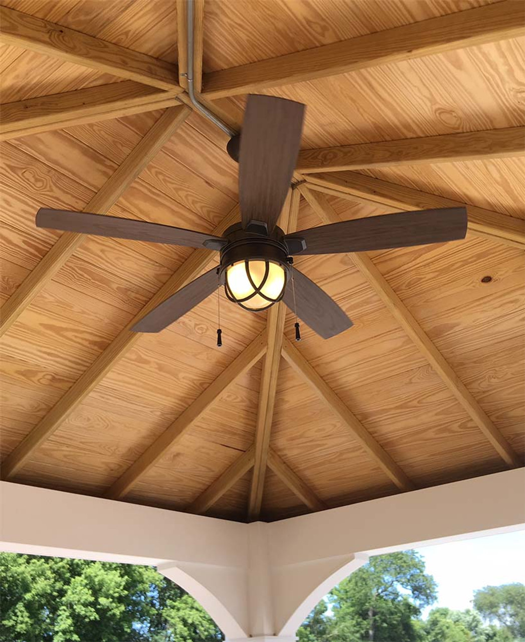 Ceiling Fan in Traditional (Hip) Pavilion Cary, IL