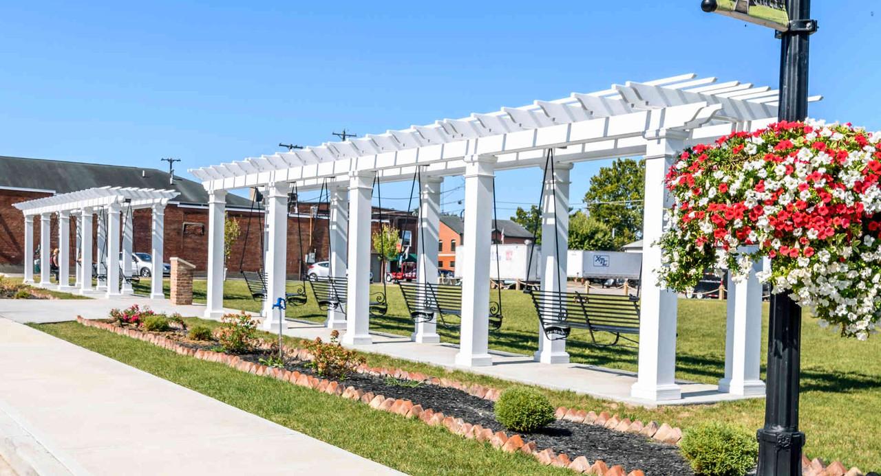 44x8 Structural Fiberglass Swing Sets, Aurora, Indiana