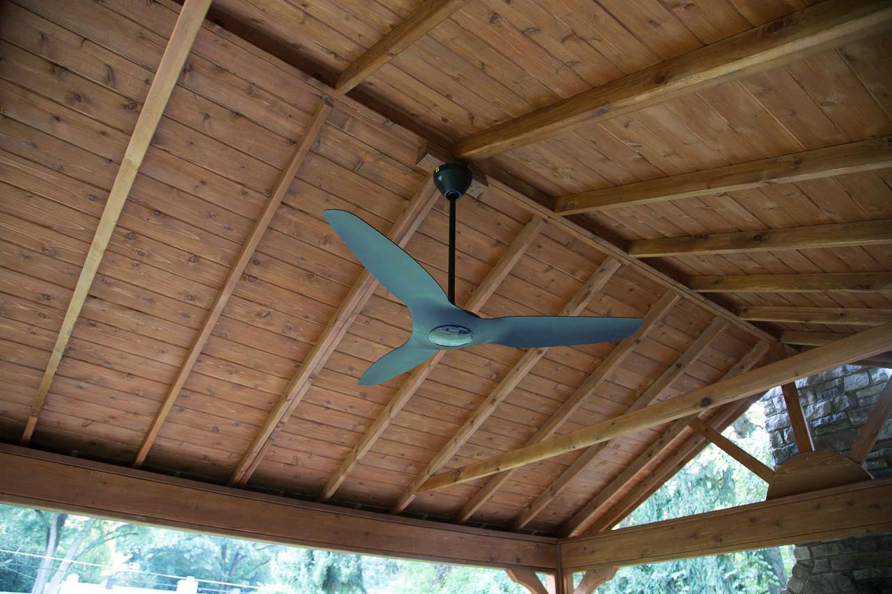 Underside of Gabled Roof Cedar Pavilion, Sewickley, PA