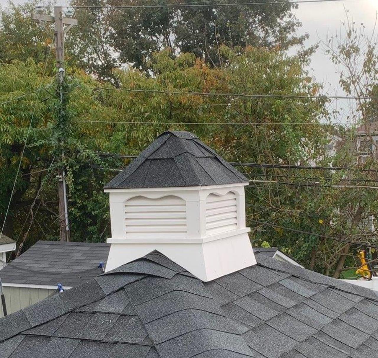 Closeup of cupola