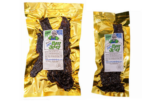 JERKY CLUB (monthly subscription) buy large bag receive small bag of same flavor Free