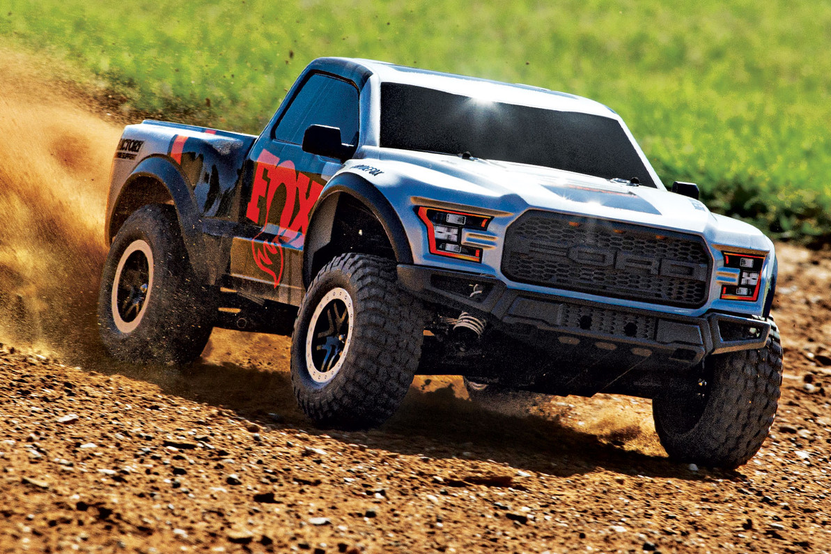 Fox Shox Edition Ford Raptor | Traxxas