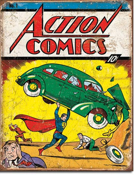 TIN SIGN # 1965 Action Comics No1 Cover