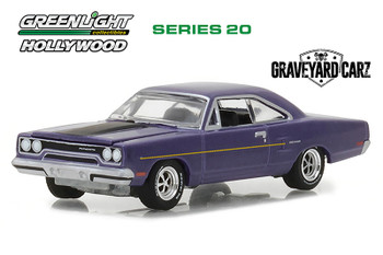 Greenlight - Hollywood Series 20   Plymouth Road Runner Graveyard Carz