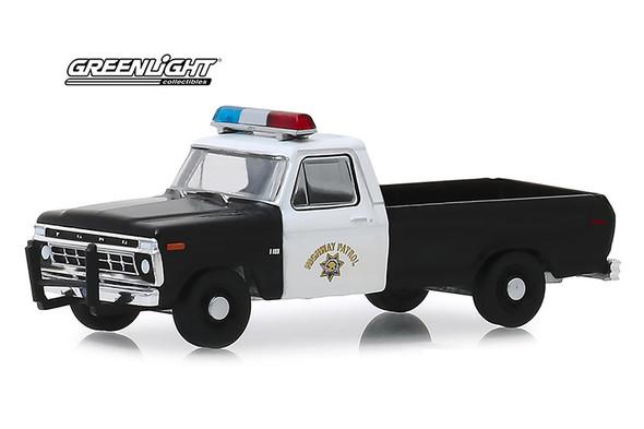 1975 Ford F-100 Pickup Truck California Highway Patrol