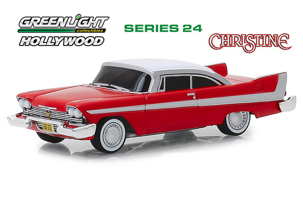 Greenlight - Hollywood Series 24 | 1958 Plymouth Fury - Evil Version - Christine