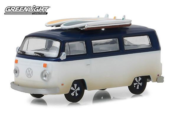 Greenlight - Volkswagen® Type 2 (T2B) Van with Surfboards