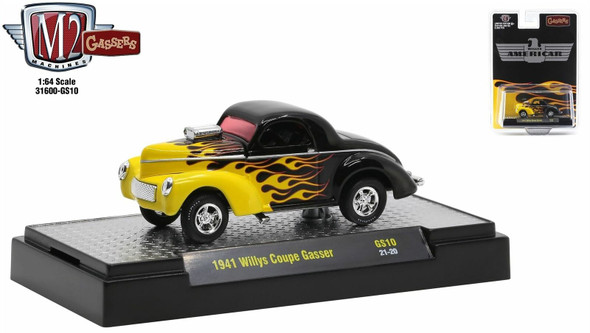 M2 Machines 1941 Coupe Gasser 31600-GS10