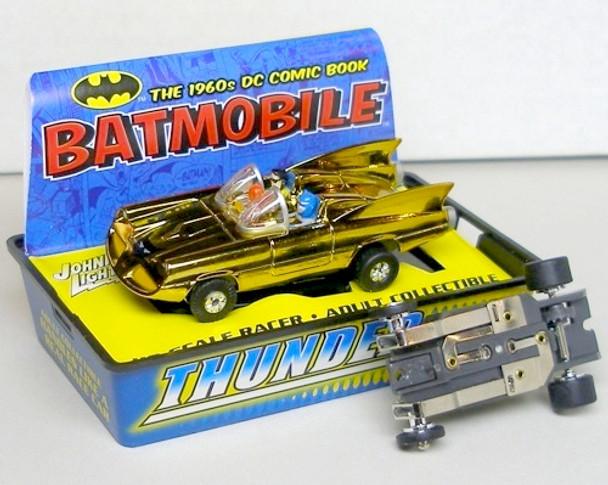 2004 JL T-Jet 500 BATMOBILE Comic Book GOLD HO Slot Car me HO Scale Slot Car