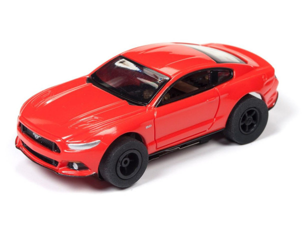 Auto World Xtraction R22 2016 Ford Mustang GT Competition Orange HO Scale Slot Car