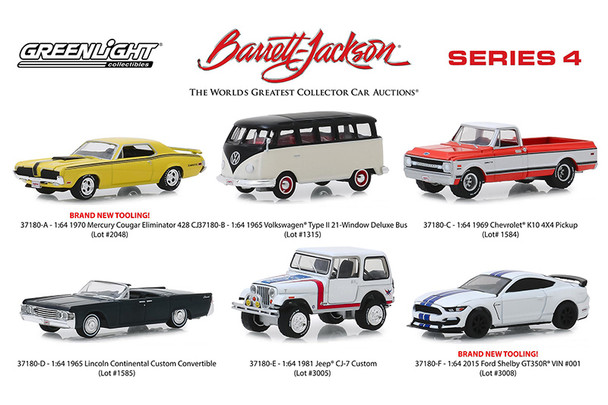 Barrett Jackson Scottsdale Edition Series 4