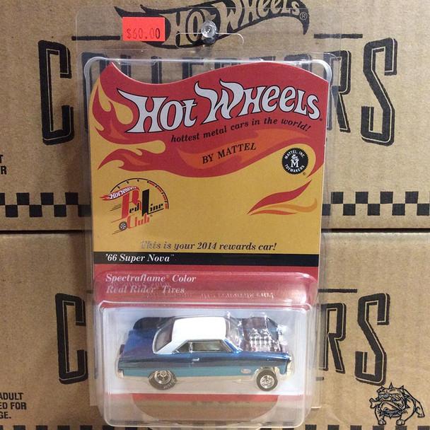 2014 Hot Wheels Red Line Club HOT WHEELS - RLC '66 SUPER NOVA GASSER