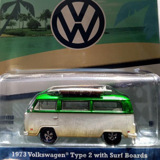 Greenlight Green Machine - Volkswagen® Type 2 (T2B) Van with Surfboards