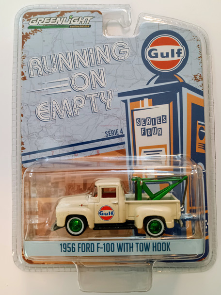 Greenlight Green Machine - Running On Empty 1956 Ford F-100 With Tow Hook