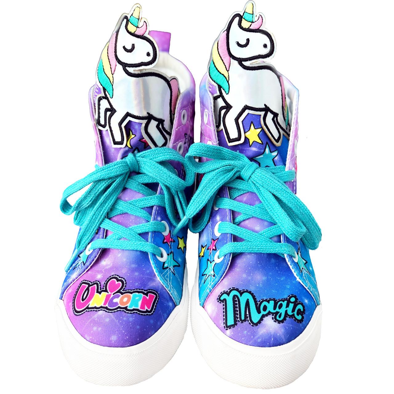 Unicorn Hi-Top Shoes Kids - Ladies