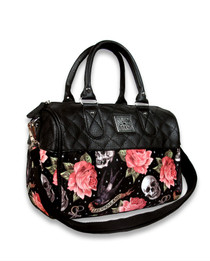 Liquorbrand Rose Tattoo Round BAg