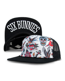 Six Bunnies Tattoo Shoppe Kids Trucker Cap