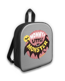 Six Bunnies Mommy's Little Monster Kids Backpack