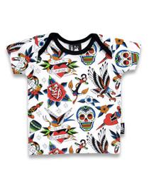 Six Bunnies Tattoo Shoppe Pyjama Set