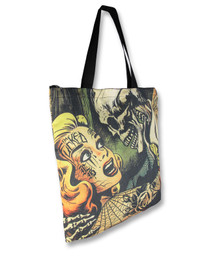 Liquor Brand Horror Tote Bag - side