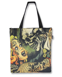 Liquor Brand Horror Tote Bag