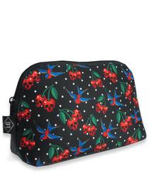 Liquorbrand Cherry Skulls Cosmetic Wallet Bag