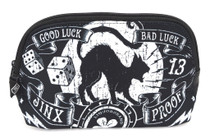 Liquorbrand Jinx Proof Cosmetic Wallet Bag - front