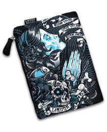 Liquorbrand Gypsy Scrolls Cosmetic Wallet Bag