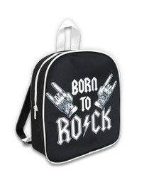 Six Bunnies Born to Rock Kids Backpack