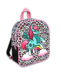 Six Bunnies Unicorn Party Kids Backpack