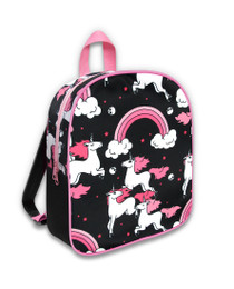 Six Bunnies Rainbow Unicorns Kids Backpack