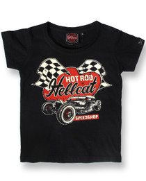 Hot Rod Hellcat Speedshop Kids Baby Tee Shirt