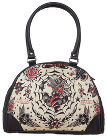 Liquor Brand Gypsy Queen Bowler Bag - front