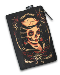 Liquorbrand Dark Seas Cosmetic Wallet Bag