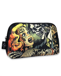 Liquorbrand Horror Cosmetic Wallet Bag - side