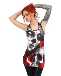 Liquorbrand Eternal Bliss Singlet Tank Top - back