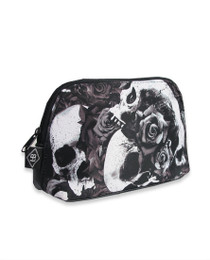 Liquorbrand Doomed Skull Cosmetic Wallet Bag